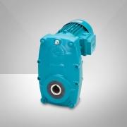 Flachgetriebemotor